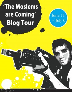 The Moslems Are Coming Blog Tour Poster